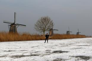 Skating Kinderdijk R de Roij09